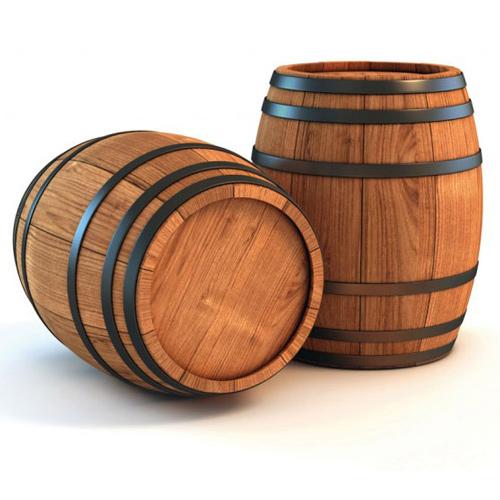 ξύλινα βαρέλια
